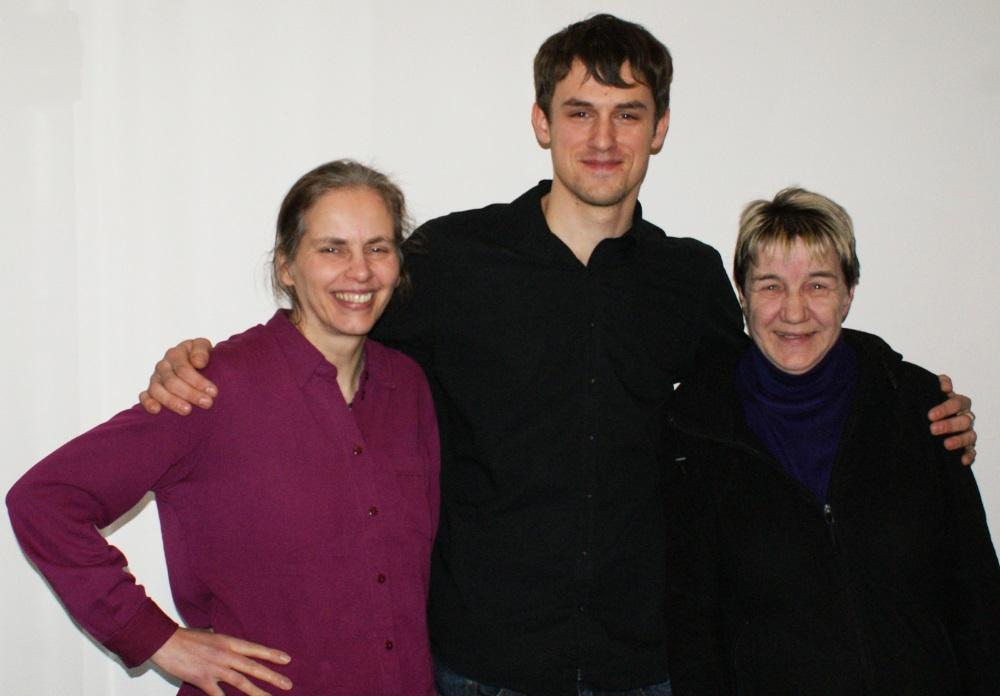 """Der neue Vorstand von ''Together MH'': Ulrike Rodriguez, Florian Stolz und Barbara Schlöcker (v.l.n.r.) © """"Together"""""""
