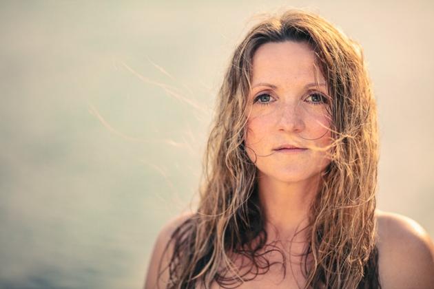 Silvana Mehnert, Miss Rockester und medlz-Sängerin. Foto: Robert Jentzsch.