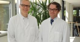 Priv.-Doz. Dr. Jörg-Peter Ritz (li.) und Priv.-Doz. Dr. Oliver Heese sind seit Juni als Chefärzte in den HELIOS Kliniken Schwerin tätig. (Foto: HELIOS Kliniken Schwerin)