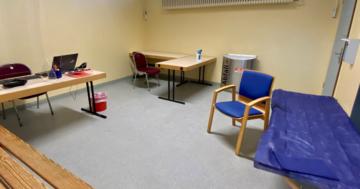 Impfzimmer ©Landeshauptstadt Schwerin_Jacqueline Saß